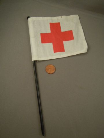 VINTAGE ACTION MAN - MEDIC - Red Cross Flag (Ref 2)